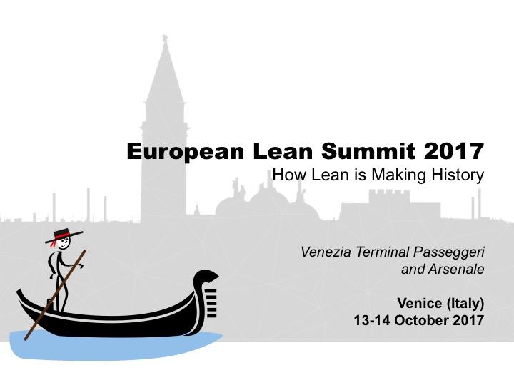 European Lean Summit 2017
